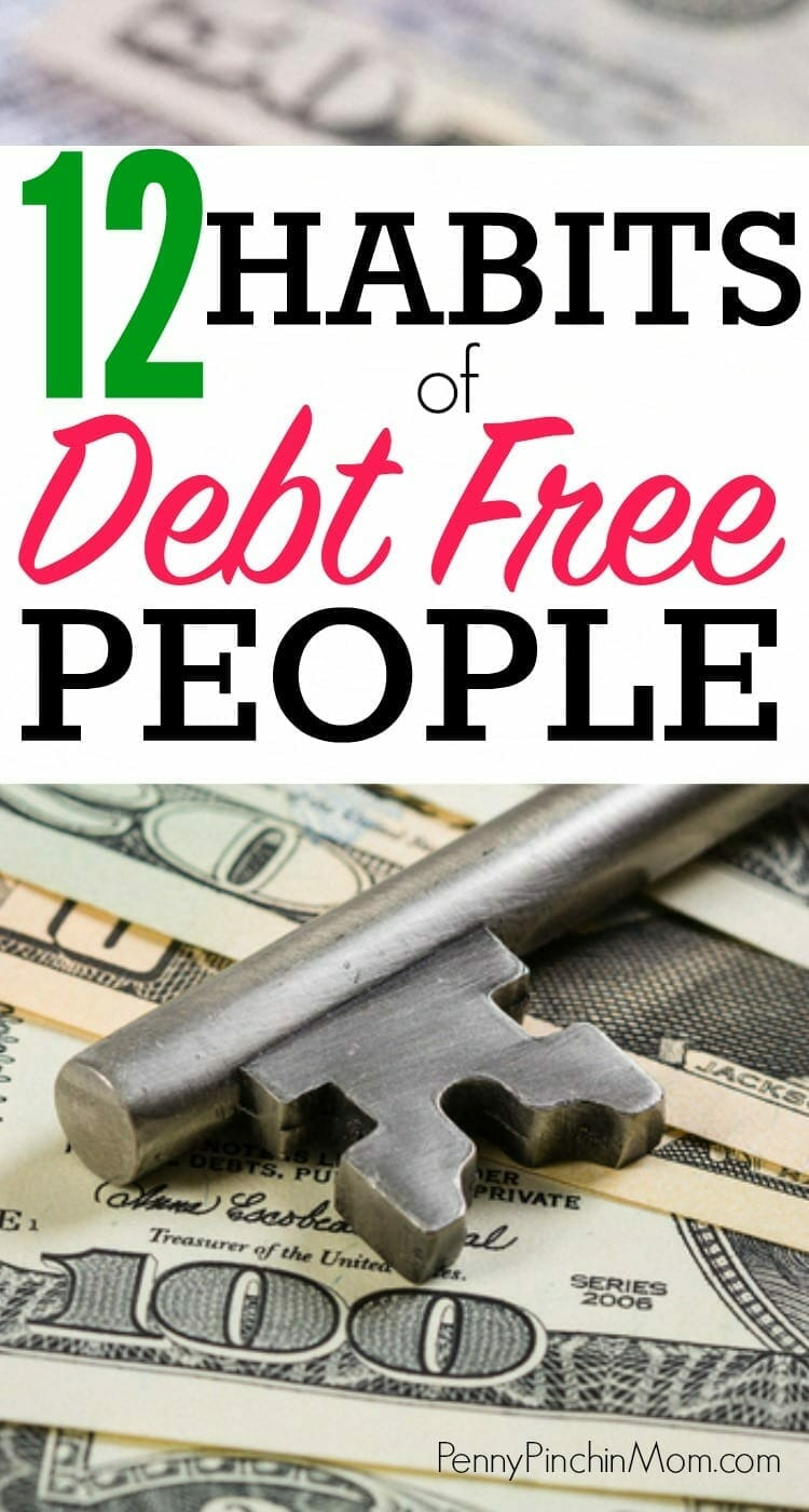 Be debt free with these habits