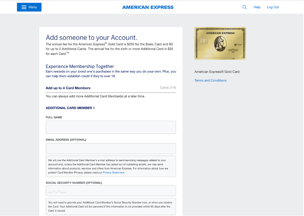 Screenshot showing how to add an authorized user
